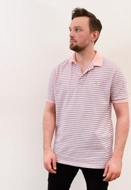 Polo Ralph Lauren vintage Men's L Polo Shirt Striped Tee Top