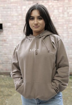 NEW IN - Mocha Latte Brown Hoodie