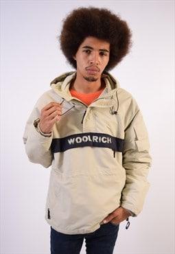 Vintage Woolrich Pullover Jacket Beige