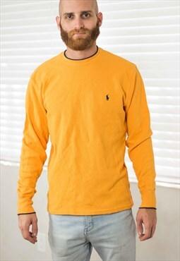 Vintage Polo Ralph Lauren T-Shirt Logo 90s L 11.4