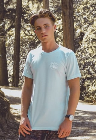 'INSIGNIA' LIGHT BLUE LOGO T-SHIRT
