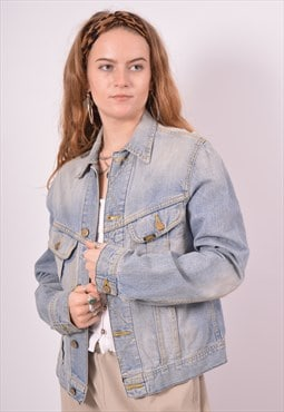 Vintage Lee Denim Jacket Blue