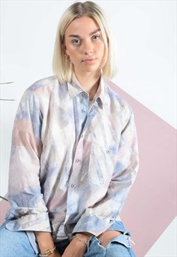 Vintage Abstract Pattern Shirt.