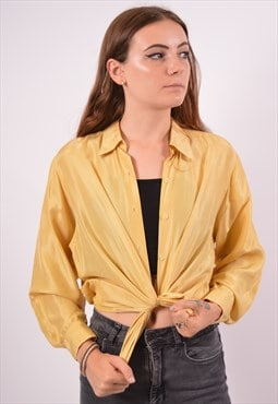 Vintage Cacharel Shirt Yellow