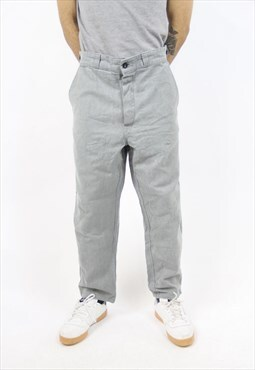 Vintage Light Grey 90's Trousers