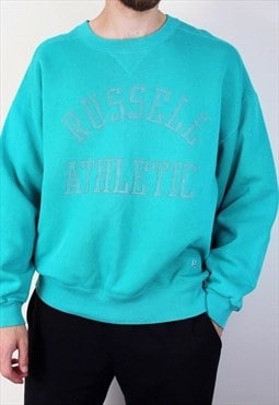 Vintage Russell Athletic Sweatshirt Made In USA Mens Large