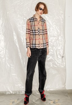 Burberry Vintage checkered blouse