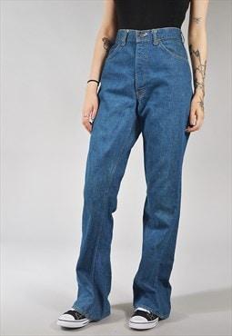 Vintage Levi's Straight Leg Jeans Dark Blue