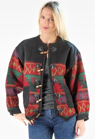 AZTEC BLANKET JACKET WOOL