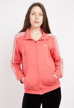 Vintage Pink Adidas Track Jacket