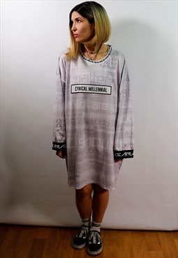 Oversized dress TOP