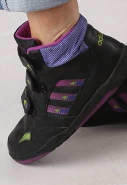 Adidas Hi Top trainers 1991 UK 5.5 RARE 90's (KJ4L)
