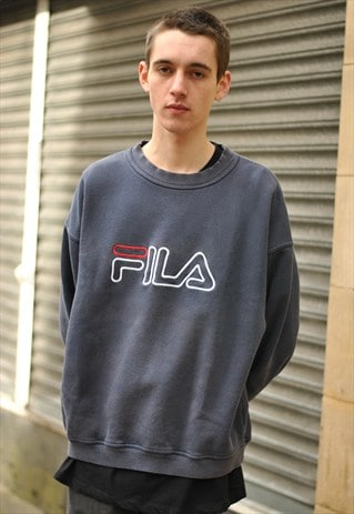 VINTAGE FILA SPELL OUT SWEATSHIRT