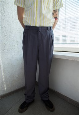 Vintage 80's Grey Trousers