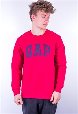 Vintage Gap Sweatshirt in Red