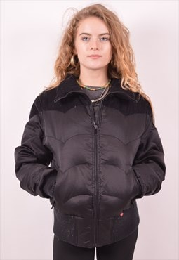 Levi's Womens Vintage Padded Jacket Medium Black 90s