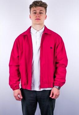 Vintage Burberry Harrington Jacket in Red