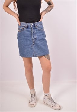 Vintage Diesel Denim Skirt Blue