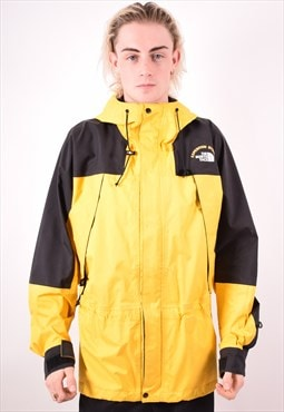 The North Face Mens Vintage Jacket Large Yellow 90s