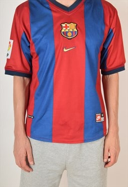 Vintage Nike Football Shirt FC Barcelona '98-'99 (3129)