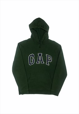 Gap hoodie in Forest Green with Spell out logo