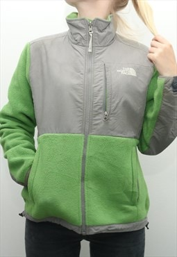 Vintage The North Face - Green Denali Embroidered Fleece Jac