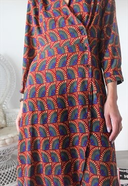 dress ethnic printed one S