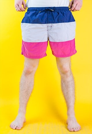 VINTAGE SWIMMING BEACH SHORTS