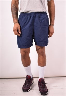 Nike Mens Vintage Shorts Medium Navy Blue 90s