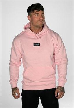 54 Floral Supreme Hoody - Light Pink