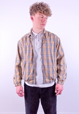 Vintage Burberry Reversible Nova Check Harrington Jacket