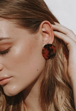 Juliette Tortoiseshell Earrings