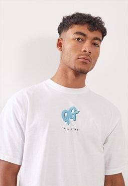 Gully Garms SS18 White T-Shirt
