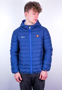 Vintage Ellesse Padded Jacket in Blue