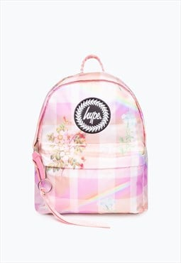 Hype dream check mini backpack