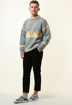 90s Vintage Oldschool Knitwear Jumper Sweater 16282