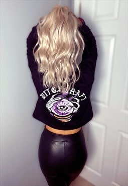 Witchcraft Long Sleeve Crop Tee