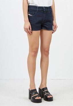 Vintage Navy DIESEL Denim Mini Shorts