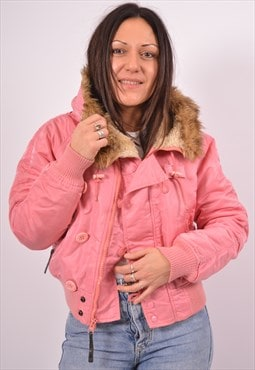 Vintage Alpha Industries Jacket Loose Fit Pink