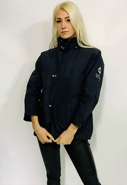 vintage TIMBERLAND jacket women's navy waterproof