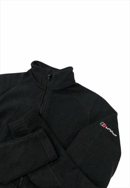 Womens Berghaus fleece black jacket zipper