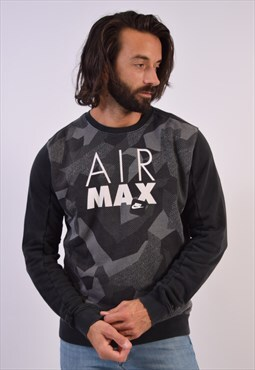 Vintage Nike Sweatshirt Jumper Black