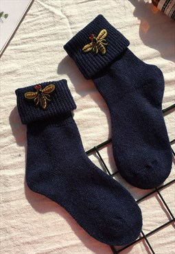Winter  Bee Socks
