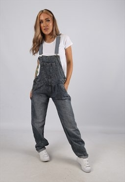 Vintage Denim Dungarees BICH REWORKED UK 10 S (A5H)