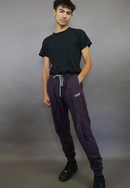 Purple Adidas Originals Joggers Trackies