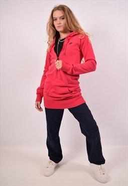 Vintage Nike Longline Hoodie Jumper Pink