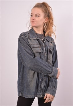 Vintage Replay Denim Jacket Blue
