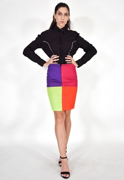 GIANNI VERSACE Multicolour Skirt