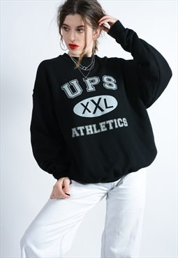 Vintage USA Sweatshirt in Black