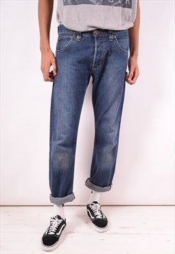 Lee Mens Vintage Jeans W34 L36 Blue 90s
